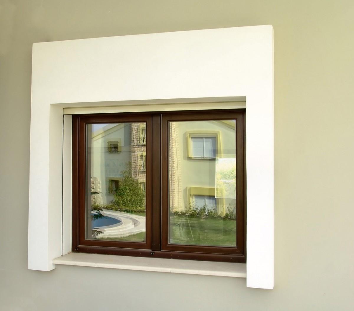 Okna w domu parterowym